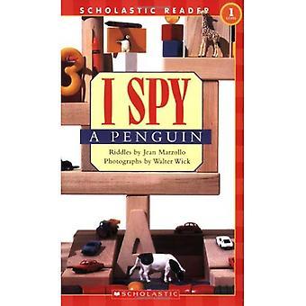 Ik zie ik zie een pinguïn (I Spy (scholastische Ingenaaid))