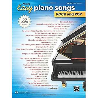 Alfred's Easy Piano Songs Rock & Pop: 50 Hits from Across the Decades (Easy Songs Rock & Pop)