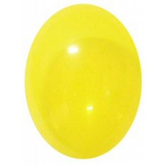 "Balloons Crystal 12"" Yellow"