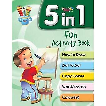 5 in 1 Fun Activity Book (Shooting Stars)