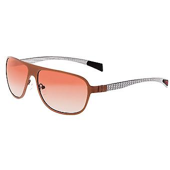 Breed Atmosphere Titanium and Carbon Fiber Polarized Sunglasses - Brown/Brown