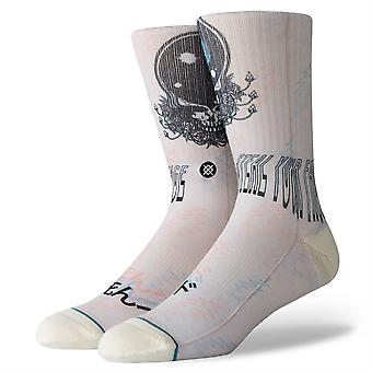 Stance Foundation Mens Socks ~ Steal Your Face (size L)