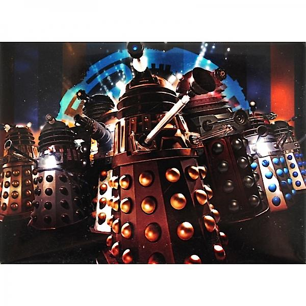 Dr. Who Dalek Montage fridge magnet     (hb)