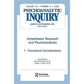 Ricerca di attaccamento e psicoanalisi indagine psicoanalitica 19,4 da Diamond & Diana