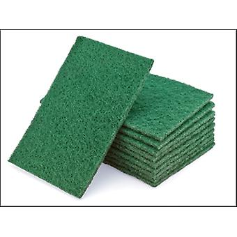 Flexipads World Class Hand Pads Green General Purpose 150 x 223mm (10)