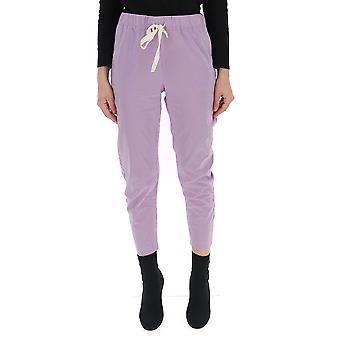 Semi-couture Lilac Cotton Pants