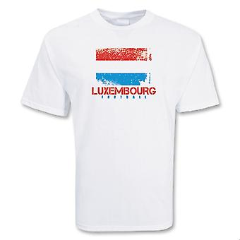 Luxembourg fotball t-skjorte