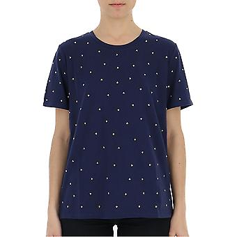 Michael Kors Blue Cotton T-shirt