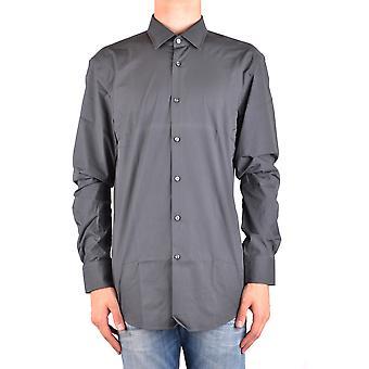Hugo Boss Grey Cotton Shirt