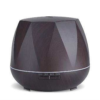 Humidifier-octagonal and dark wood