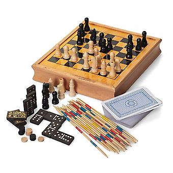Traditional Retro Wooden Games Compendium