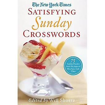 The New York Times Satisfying Sunday Crosswords - 75 Sunday Puzzles fr