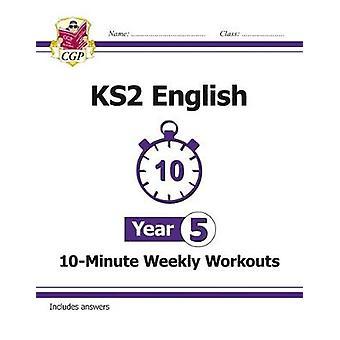 Nya KS2 engelska 10-minuters vecko pass-år 5 (för nya Curri