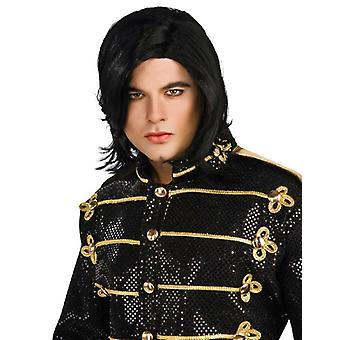 مايكل جاكسون مستقيم الكبار المرخصة زي الرجال الباروكة