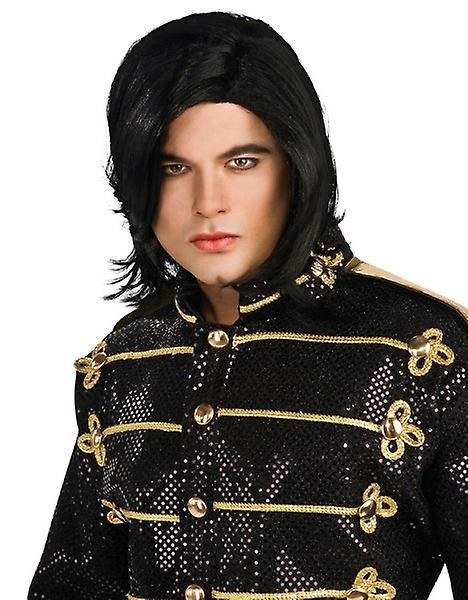 Michael Jackson Straight Adult Licensed Costume Men Wig