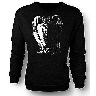 Kinder Sweatshirt Teufel Satan Sketch - Horror