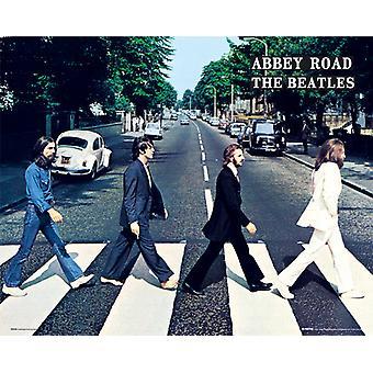 Les Beatles Abbey Road affichette 40x50cm