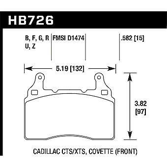 Hawk Performance HB726F.582 HPS