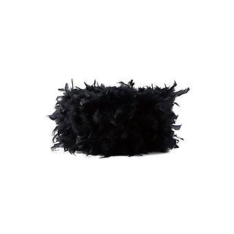 Diyas Arqus Feather Shade Black 250mm X 180mm