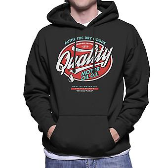 London Banter Quality Motor Oil Men's Hooded Sweatshirt