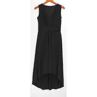 Kelly von Clinton Kelly Petite Kleid 2XSP V-Ausschnitt Schwarz A278473
