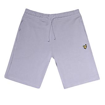Infant Boys Lyle and Scott Classic Sweat Shorts in Light Blue