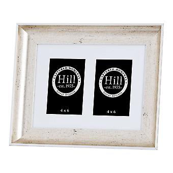 Hill Interiors Antique Style Silver Crackled Effect Photo Frame