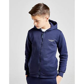 New McKenzie Boys' Essential Zip Through Hoodie Navy