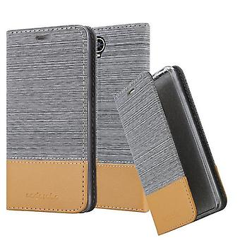 Cadorabo Case for Cubot MAX Case Cover - Phone Case with Magnetic Closure, Stand Function and Card Compartment - Case Cover Case Case Case Case Book Folding Style