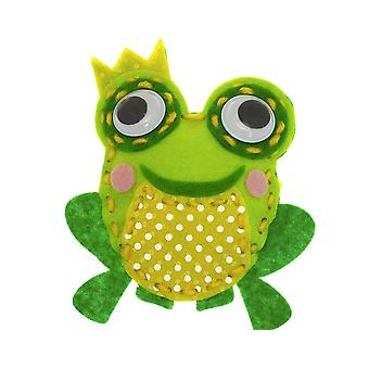 Kids Sewing & Craft Kit to Make Finn the Frog | Sewing for Kids