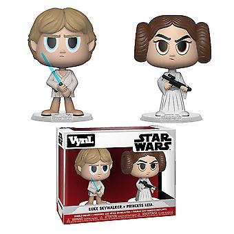 Star Wars Luke Skywalker & Princesa Leia Vynl.