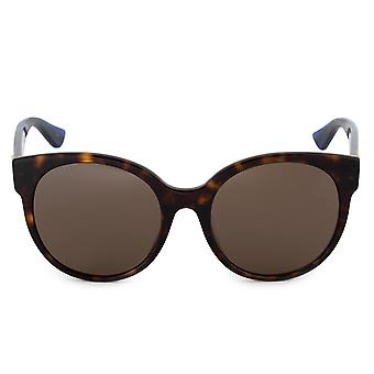Gucci Cat Eye Sunglasses GG0035SA 003 56