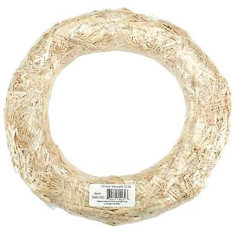 Straw Wreath 18