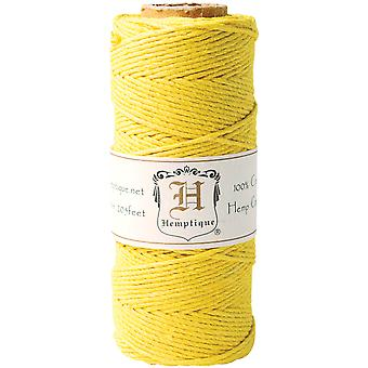 Hemp Cord Spool 20# 205' Pkg Yellow Hs20 Yel