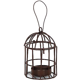 Timeless Miniatures Metal Birdcage with Tealight Holder 6612 004