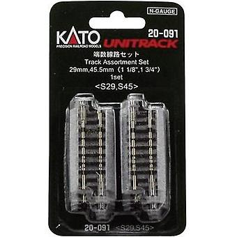 N Kato Unitrack 7078015 Filler track 29 mm, 45 mm