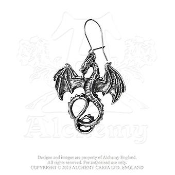 Alchemy Gothic Wyverex Earrings