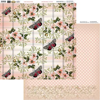 Vintage Rose Garden Double-Sided Paper 12