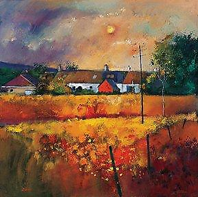 Davy Brown print - Moonlit Fields