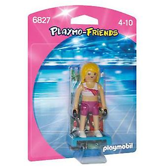 Playmobil Fitness teacher (Toys , Dolls And Accesories , Miniature Toys , Mini Figures)