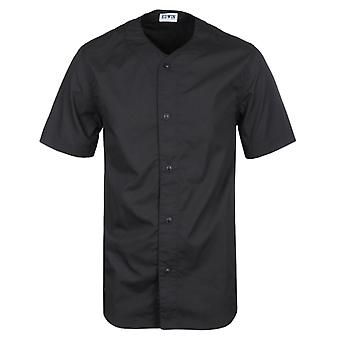 Edwin Black Short Sleeve Baseball Shirt