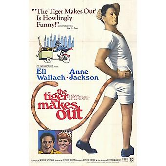 The Tiger Makes Out Movie Poster (11 x 17)