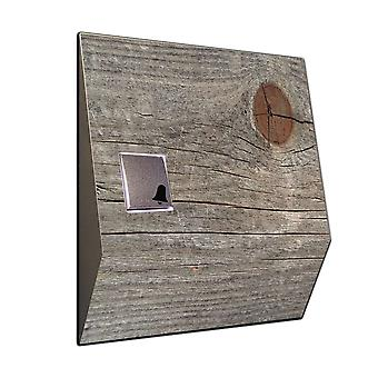 Wireless doorbell Knothole wireless door bell made of stainless steel V2A