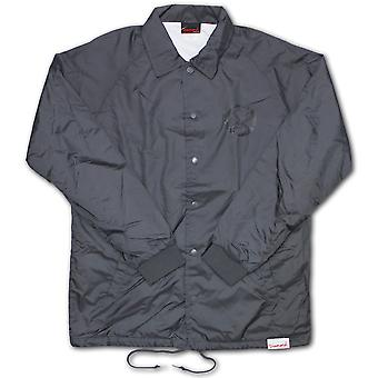 Diamond Supply Co Crossed Up Coach Jacket Grey