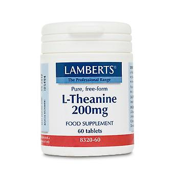 Lamberts L-Theanine 200mg NEW HIGHER STRENGTH, 60 tablets