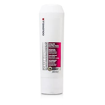 Goldwell Dual Senses Color Extra Rich Detangling Conditioner (For Thick to Coarse Color-Treated Hair) 200ml/6.7oz
