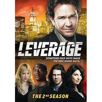 Leverage - Leverage: Season 2 [DVD] USA import