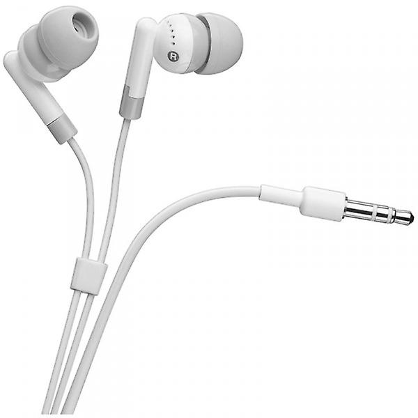 Original Goobay Earphone for iPhone / iPod White Earphones for iPod and iPhone