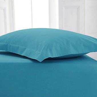 Plain Polycotton Fitted Bed Sheets Bed Linen in Colors All Sizes
