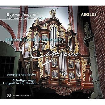 Froberger / Asperen, Bob Van - Bob Van Asperen Froberger udgave: Capriccio 7 [SACD] USA import